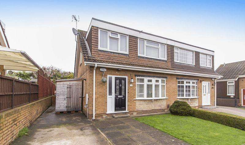 3 Bedrooms Semi Detached House for sale in VICARAGE DRIVE, CHADDESDEN