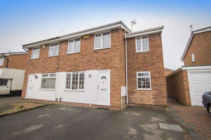 3 Bedrooms Semi Detached House for sale in Fairwood Drive, Derby