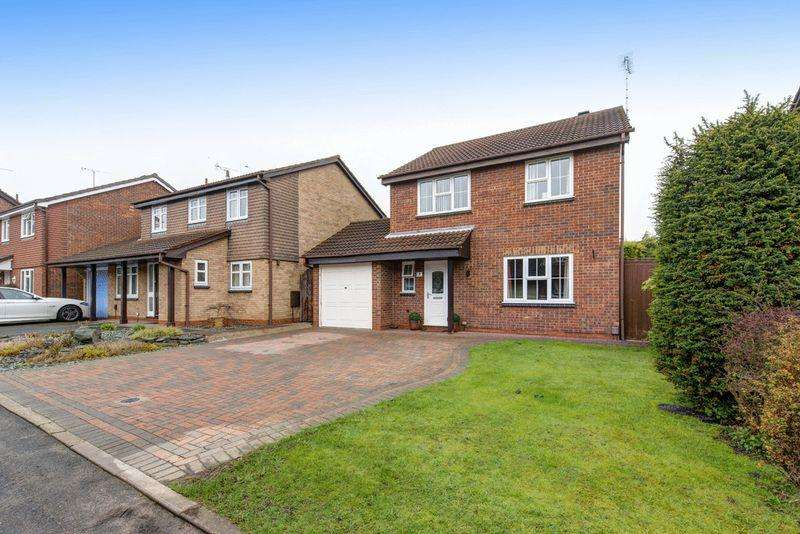 4 Bedrooms Detached House for sale in Wickersley Close, Allestree/Darley Abbey