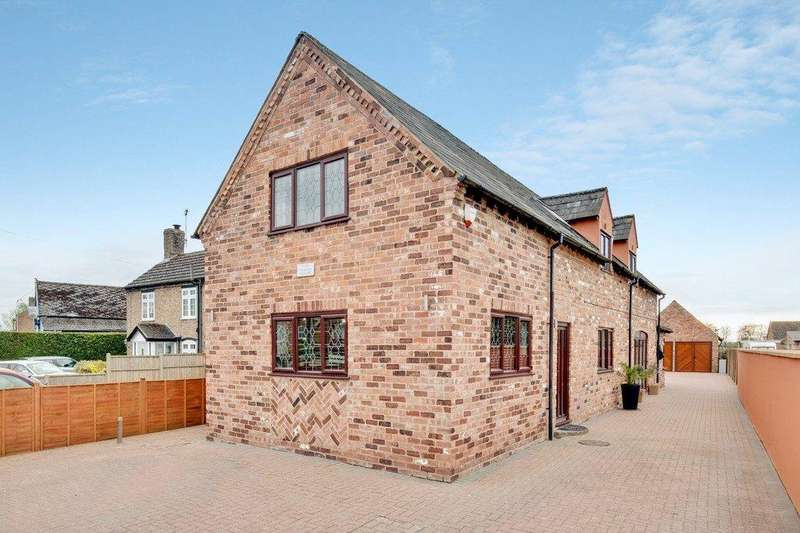 4 Bedrooms Detached House for sale in High Street, Saul,