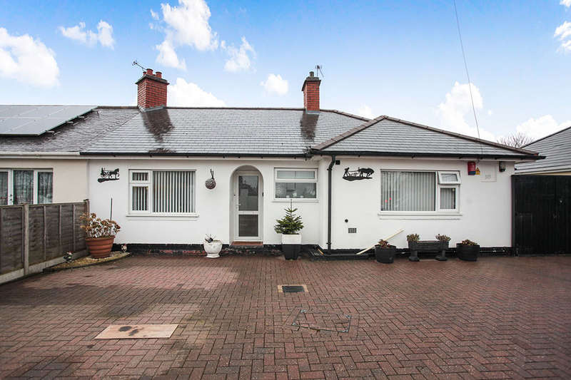 3 Bedrooms Semi Detached Bungalow for sale in Coventry Road, Nuneaton, CV10