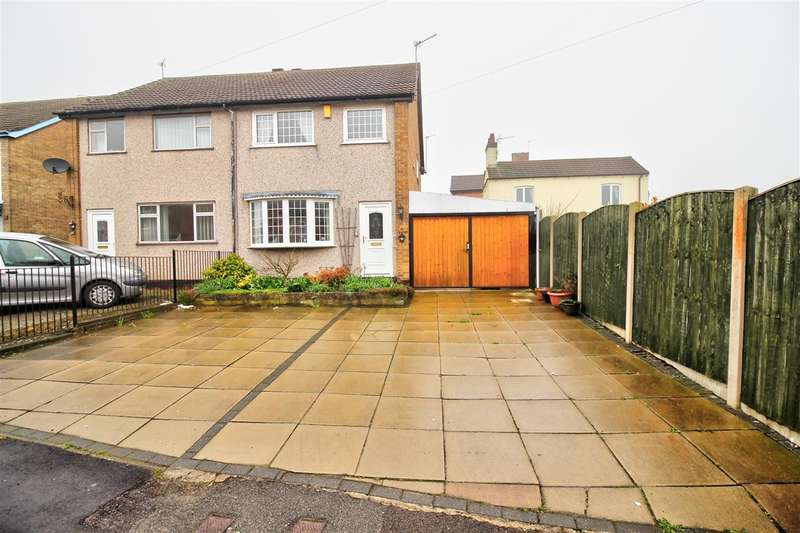 3 Bedrooms Semi Detached House for sale in Jessop Street, Codnor