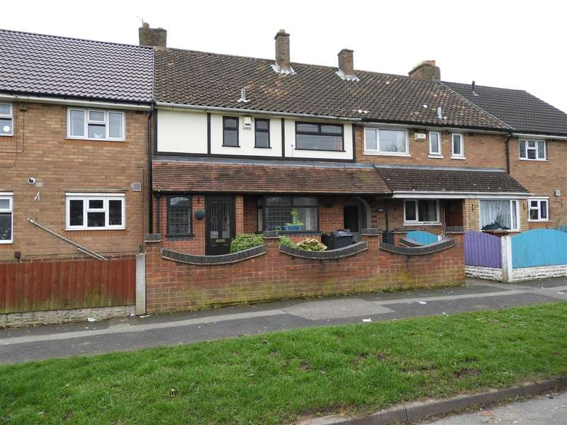 3 Bedrooms Terraced House for sale in Stephenson Avenue, Beechdale, Walsall