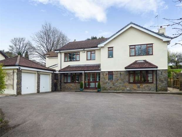 5 Bedrooms Detached House for sale in Church Road, Bridgend, Mid Glamorgan