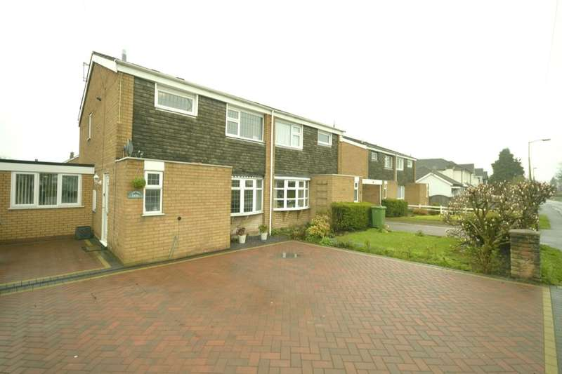 3 Bedrooms Semi Detached House for sale in A Birches Road, Codsall, Wolverhampton, WV8