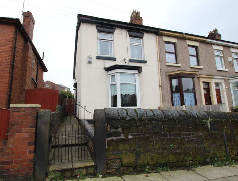 3 Bedrooms End Of Terrace House for sale in Park Street, Bootle, Bootle, L20