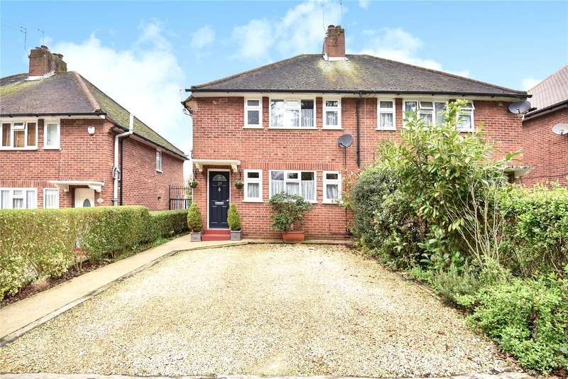 3 Bedrooms Semi Detached House for sale in Church Road, Harefield, Uxbridge, Middlesex, UB9