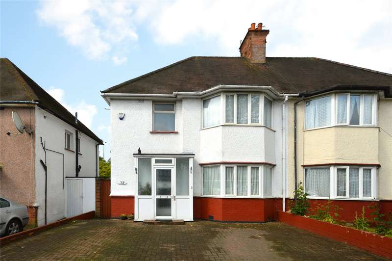3 Bedrooms Semi Detached House for sale in Millway, Mill Hill