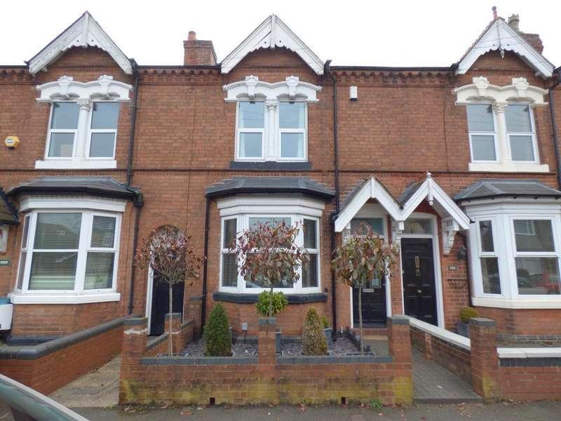 3 Bedrooms Terraced House for sale in Grosvenor Road, Harborne, Birmingham, B17 9AN