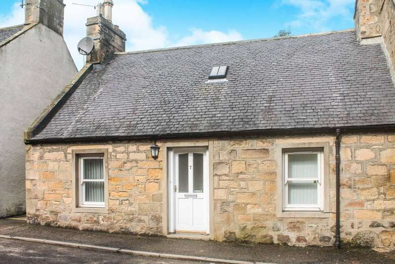2 Bedrooms End Of Terrace House for sale in Hartfield Street, Tain, IV19 1DH