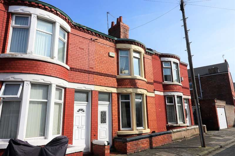 2 Bedrooms House for sale in Rufford Road, Wallasey, CH44 4BY