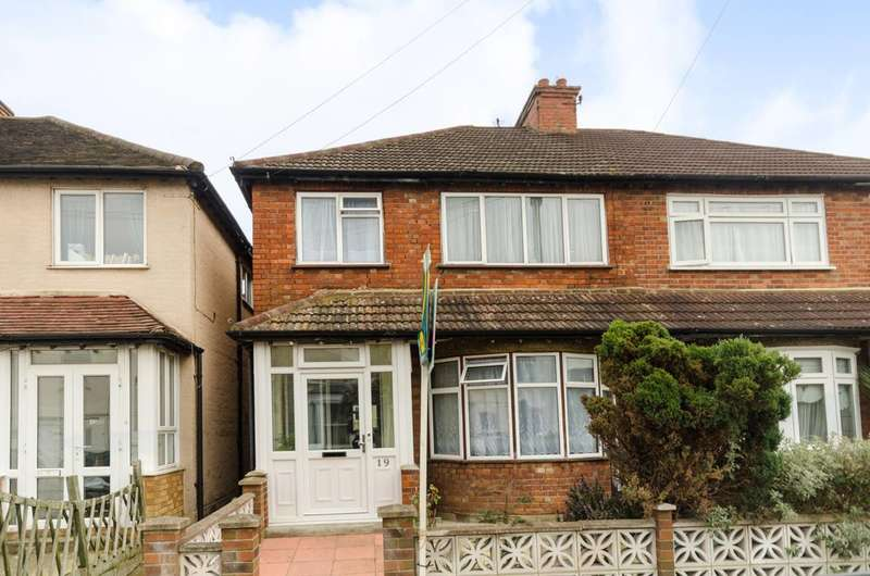 3 Bedrooms Semi Detached House for sale in Elm Road, New Malden, KT3