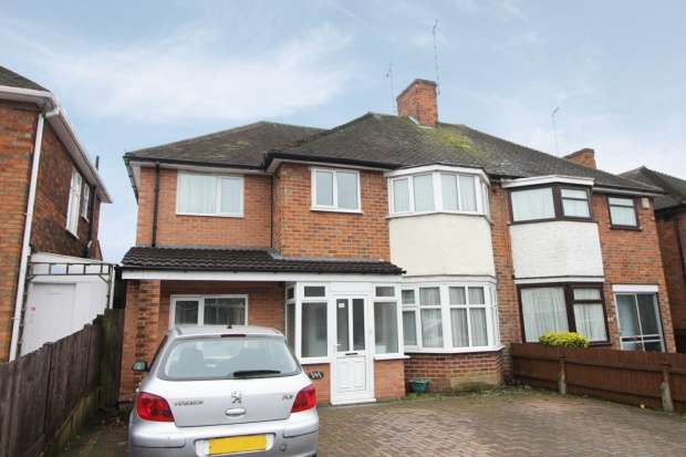 5 Bedrooms Semi Detached House for sale in Wicklow Drive, Leicester, Leicestershire, LE5 4EL
