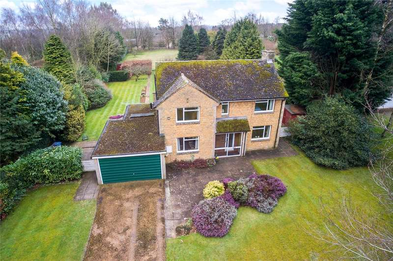 4 Bedrooms Detached House for sale in Hall Close, North Aston, Bicester, Oxfordshire, OX25