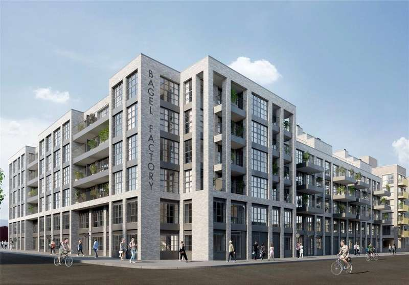 2 Bedrooms Flat for sale in White Post Lane, London, E9