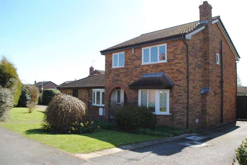 4 Bedrooms Detached House for sale in Smithy Way, Shepshed