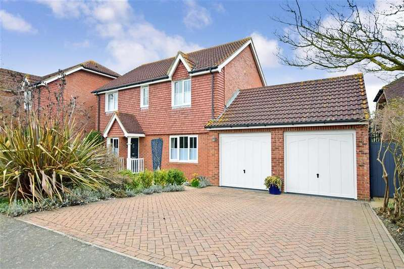 4 Bedrooms Detached House for sale in Flamingo Drive, Herne Bay, Kent