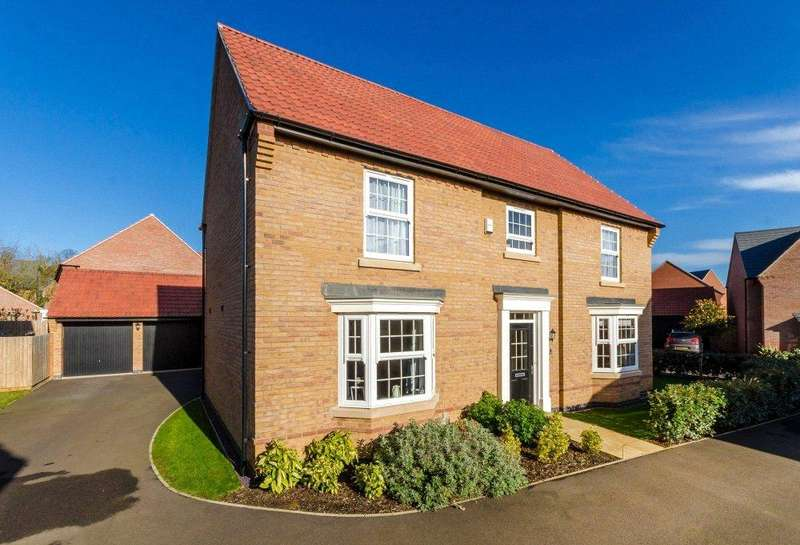 5 Bedrooms Detached House for sale in Hampden Way, Greylees, Sleaford, Lincolnshire, NG34
