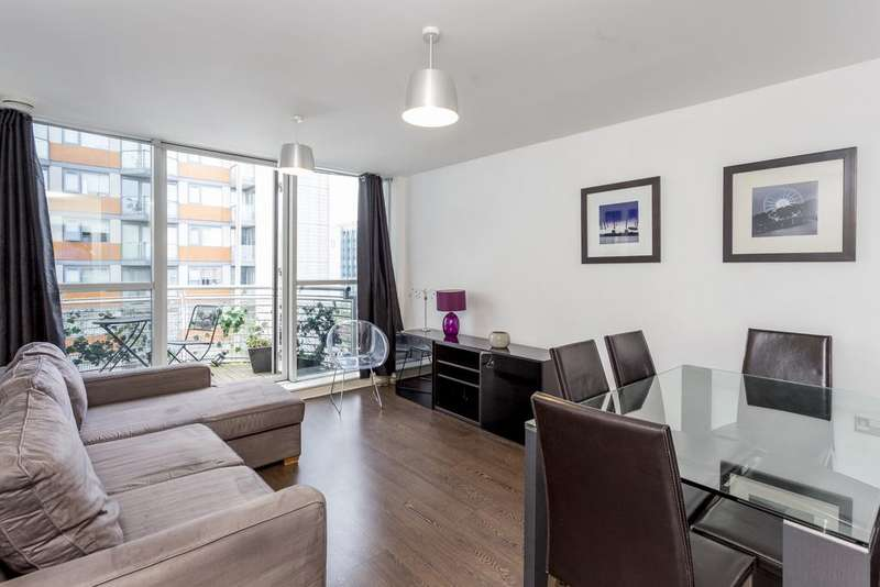 1 Bedroom Flat for sale in Blackwall Way, London E14