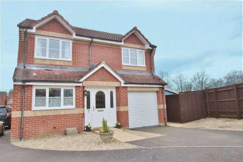 4 Bedrooms Detached House for sale in Rebels Way, Glastonbury