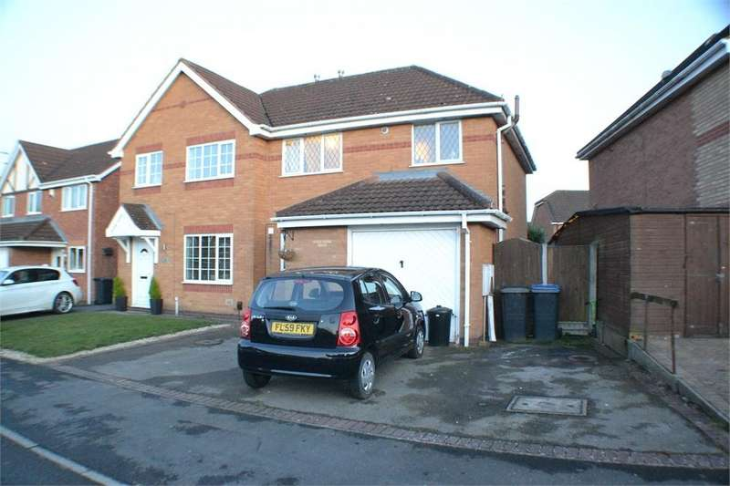 3 Bedrooms Semi Detached House for sale in Knapton Close, Hinckley