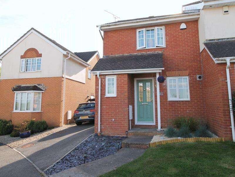 2 Bedrooms Semi Detached House for rent in Dol Y Llan, Miskin, CF72 8RY
