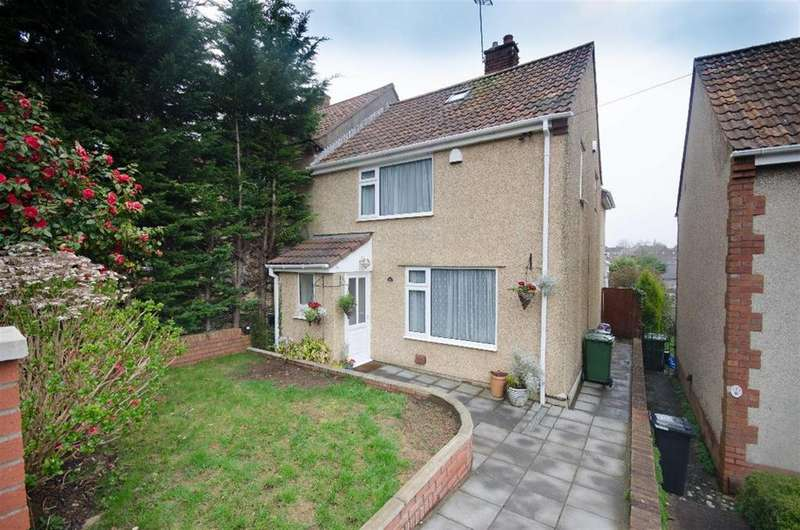 4 Bedrooms Semi Detached House for sale in Almond Way, Downend, Bristol