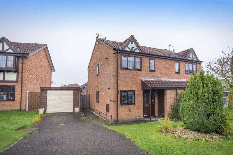 2 Bedrooms Semi Detached House for sale in ROWAN PARK CLOSE, DERBY