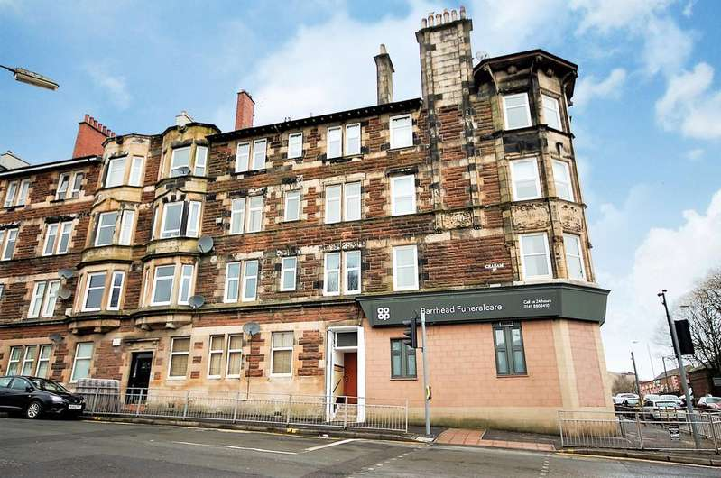 1 Bedroom Flat for sale in Graham Street, Barrhead G78 1EU