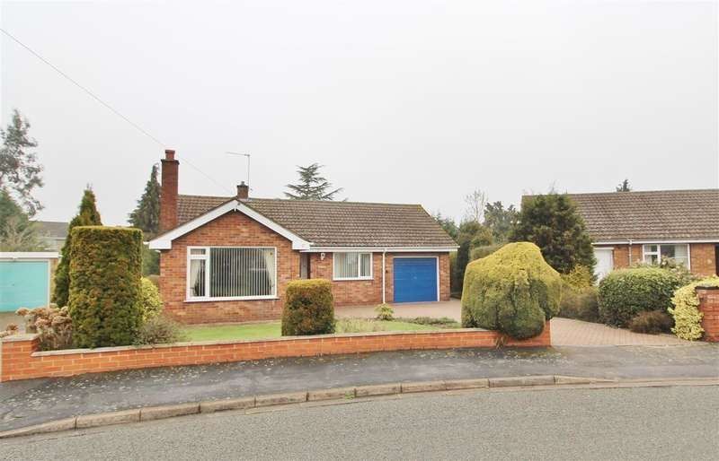 2 Bedrooms Detached Bungalow for sale in Dovedale Close, Grantham