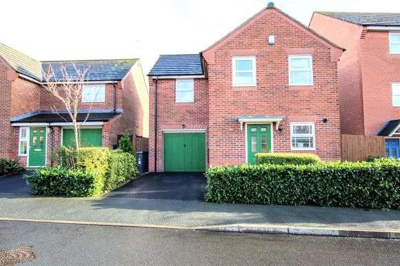 3 Bedrooms Detached House for sale in 19 Layton Way, Prescot