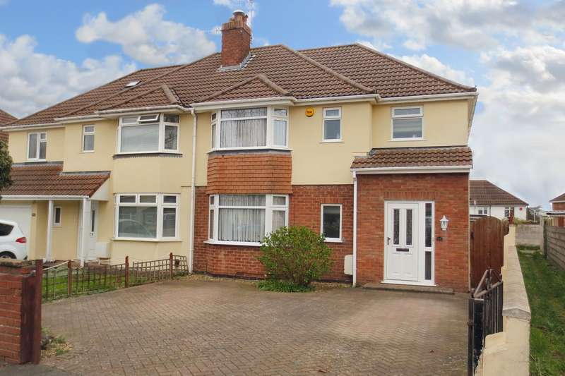 4 Bedrooms Semi Detached House for sale in Headley Park Avenue, Bristol, BS13