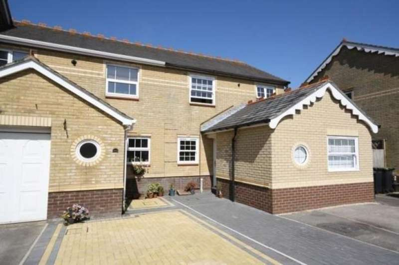 4 Bedrooms End Of Terrace House for sale in Le Patourel Close, Purewell Meadows, Christchurch