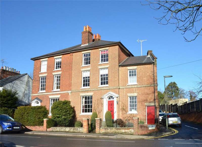 5 Bedrooms Semi Detached House for sale in Stanley Villas, Guildford Road, Farnham, Surrey, GU9