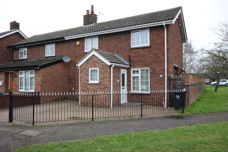 2 Bedrooms Semi Detached House for sale in Denny Crescent, Langford, Biggleswade, SG18