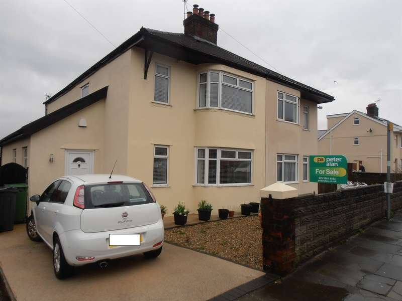 3 Bedrooms Semi Detached House for sale in Ty Wern Road, Cardiff
