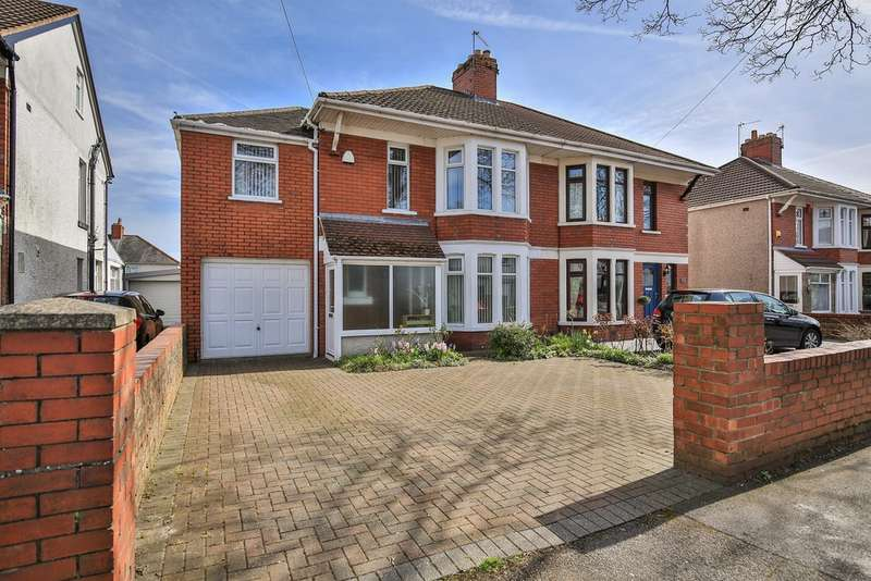 5 Bedrooms Semi Detached House for sale in Pantbach Road, Rhiwbina, Cardiff