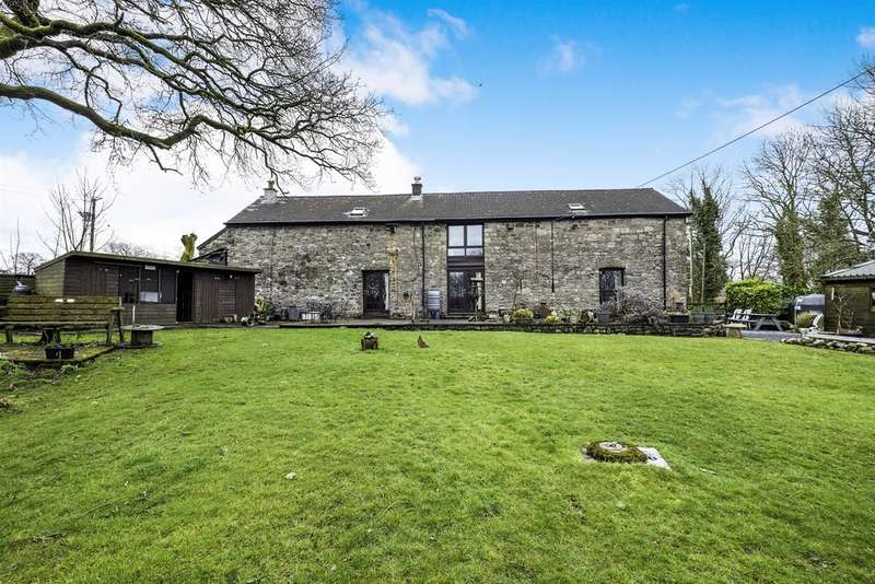 5 Bedrooms Barn Conversion Character Property for sale in The Byre, Banwen, Neath