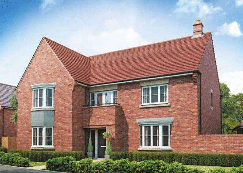 5 Bedrooms Detached House for sale in Plot 30, The Kemble, Abbotts Meadow, Steventon