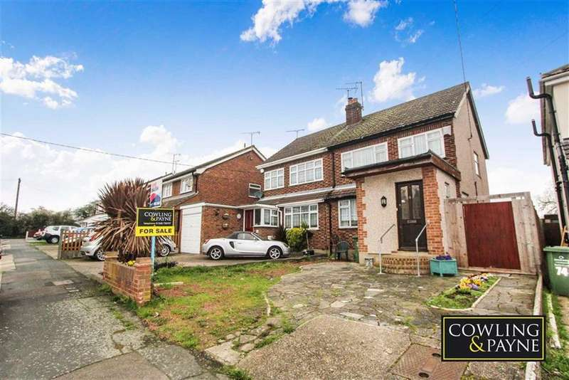 3 Bedrooms Semi Detached House for sale in Belmont Avenue, Wickford, Essex