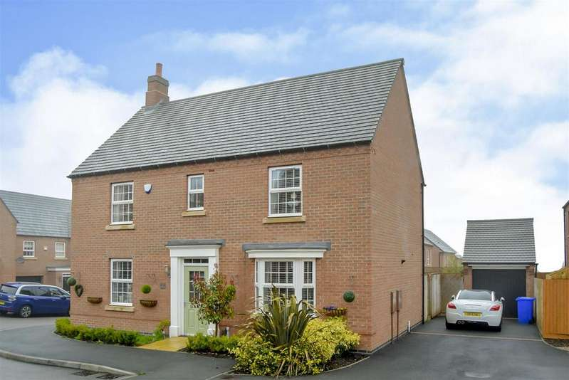4 Bedrooms Detached House for sale in Goldcrest Road, Forest Town
