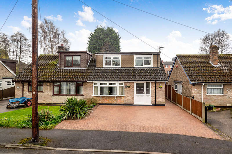 3 Bedrooms Semi Detached Bungalow for sale in Robey Drive, Eastwood, Nottingham, NG16
