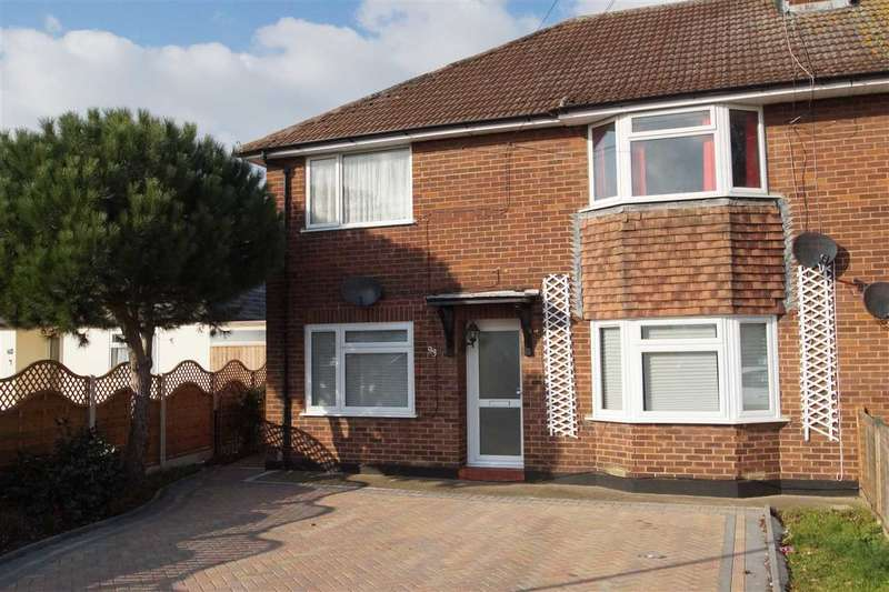 2 Bedrooms Maisonette Flat for sale in Bower Way, Cippenham