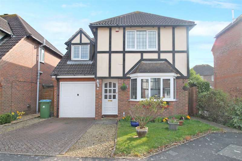 4 Bedrooms Detached House for sale in Blenheim Drive, Rustington, West Sussex, BN16