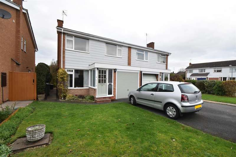 3 Bedrooms Semi Detached House for sale in Adrian Close, Droitwich Spa