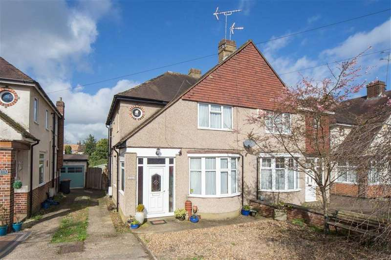 3 Bedrooms Semi Detached House for sale in Chiltern Road, Dunstable, Bedfordshire, LU6