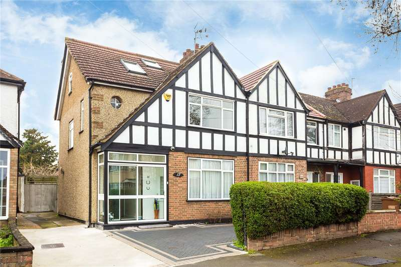 4 Bedrooms Mews House for sale in Fisher Road, Harrow Weald, HA3