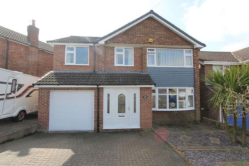4 Bedrooms Detached House for sale in Revelstoke Way, Nottingham, Nottinghamshire, NG5 5EB