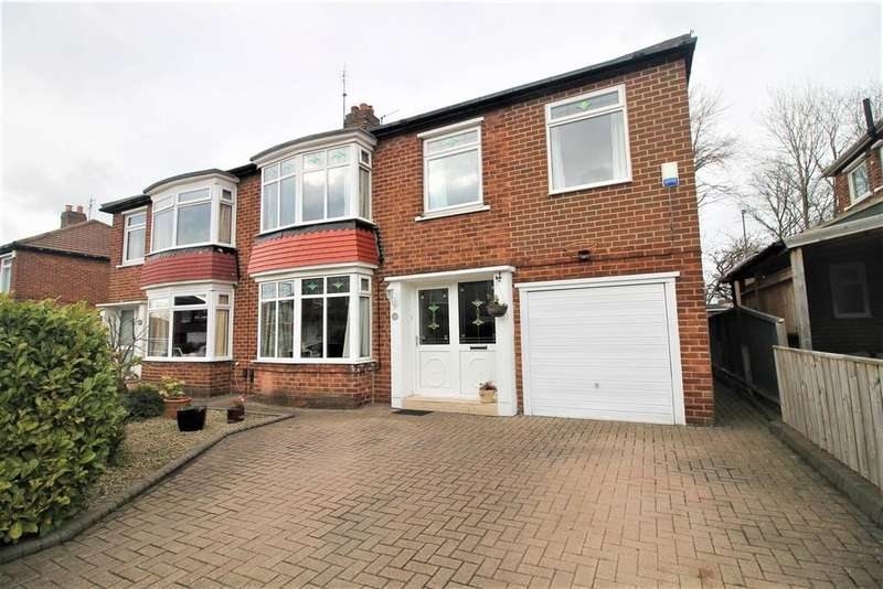 3 Bedrooms Semi Detached House for sale in Seamer Grove, Stockton-On-Tees