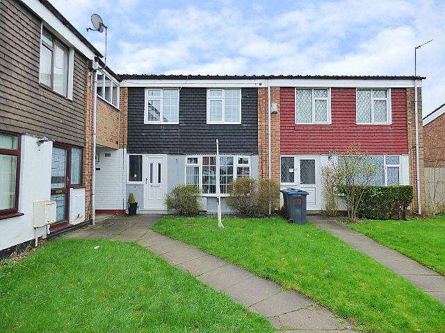 3 Bedrooms Terraced House for sale in Highcrest Close, West Heath, Birmingham B31